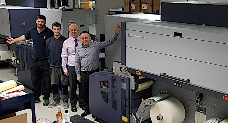 Labmak buys second Durst Tau 330 RSC press