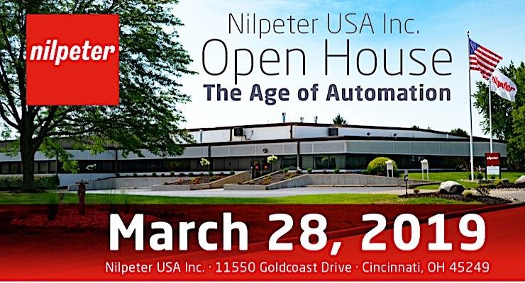Nilpeter USA announces open house