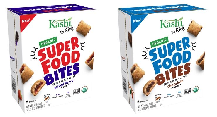 Kashi Adds Organic Super Food Bites to Kashi by Kids Line