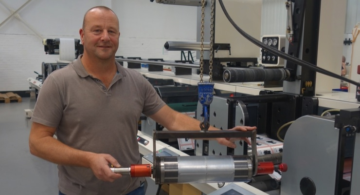 Aztec Label improves diecutting with AccuStrike