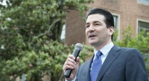 FDA Commissioner Scott Gottlieb to Step Down