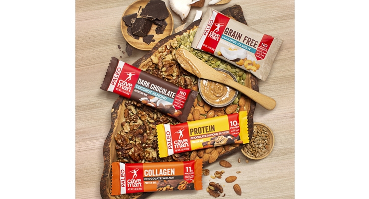 Caveman Foods Launches Collagen Bars and Grain-Free Granola Bars