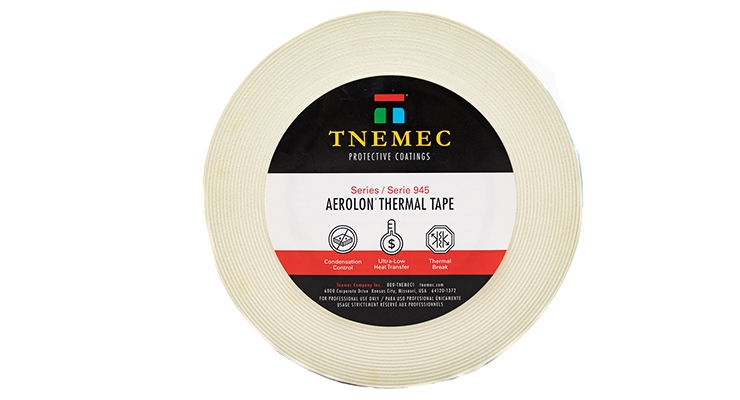 Tnemec Introduces Self-adhesive Insulating Tape