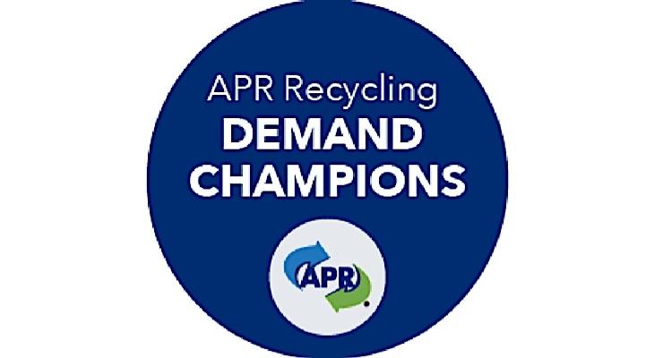 APR announces Recycling Demand Champion companies
