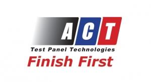 ACT Test Panels Announces Launch of European Website at ECS