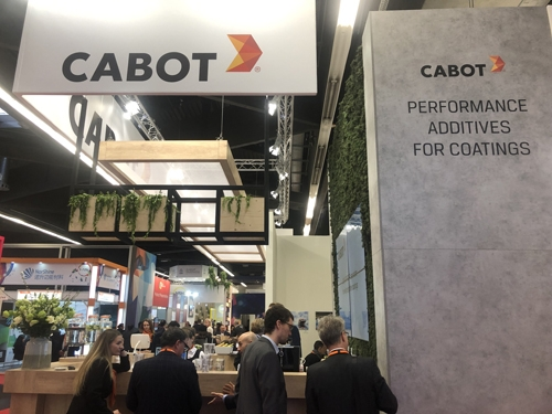 Cabot Corporation to Showcase Performance Additives at the European Coatings Show