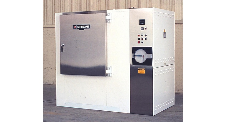 Grieve Introduces 750°F Electric Class 100 Cleanroom Oven