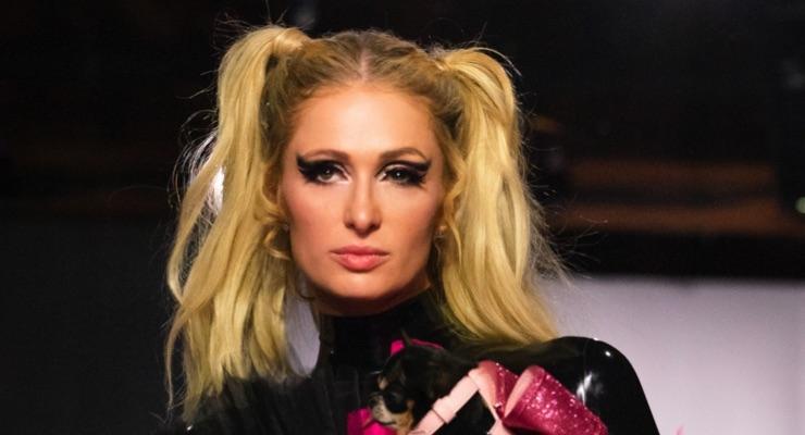 Paris Hilton Guests for Powerpuff Girls Runway Show