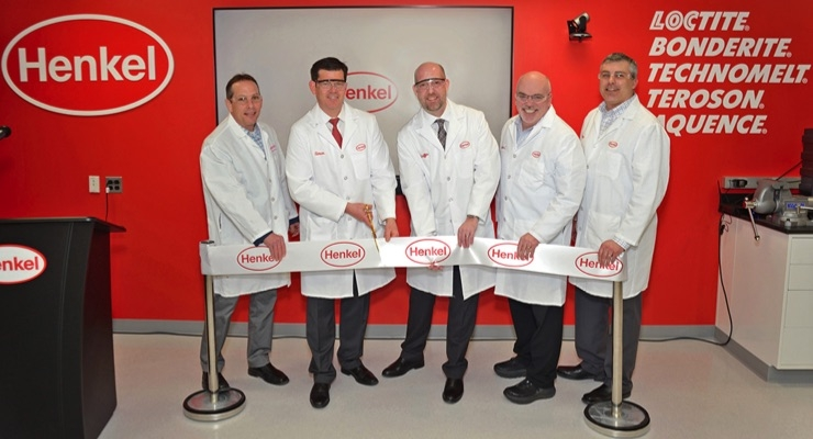 Henkel Adhesive Technologies Opens New OEM Application Center