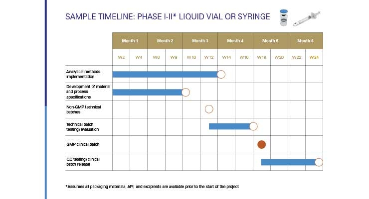 Clinical Manufacturing on Time and within Budget