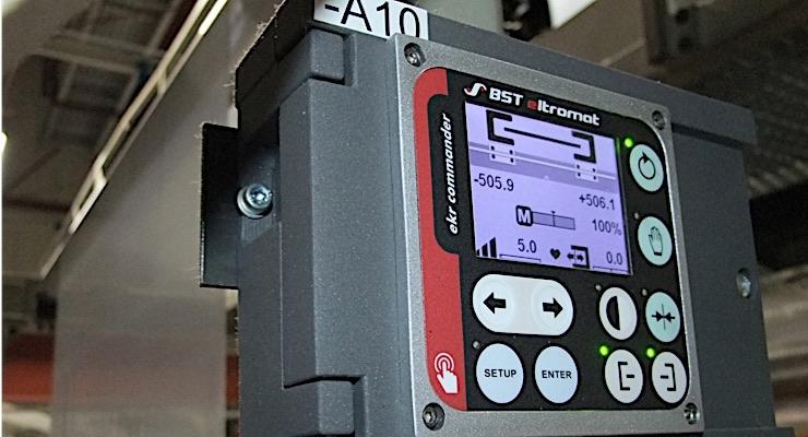 BST eltromat web guiding systems the choice for Heukäufer Folien