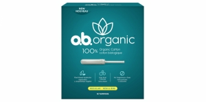 o.b. Launches Organic Cotton Tampons