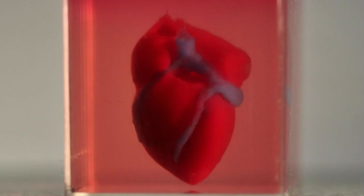 Scientists Print First 3D Heart Using Patient