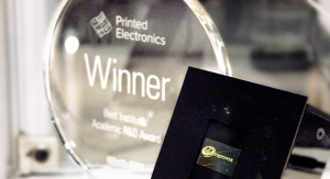 ESJET Printing Technology for Large Area Active Devices Awarded