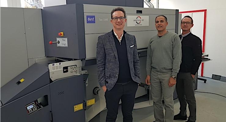 Label Center opts for Durst Tau 330 E