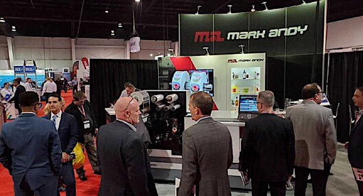 Mark Andy exhibits Digital One at Graphics Canada