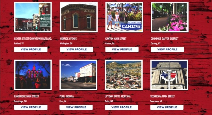 America's Main Streets Compete for $25K Cash Prize