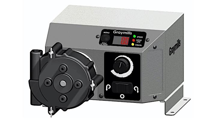 Graymills launching PQT Peristaltic Pump