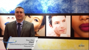 Brian Allen discusses Silsurf I108 at In Cosmetics Global