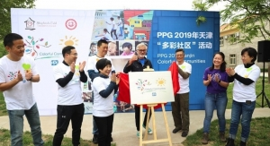 PPG Completes COLORFUL COMMUNITIES Project in Tianjin, China