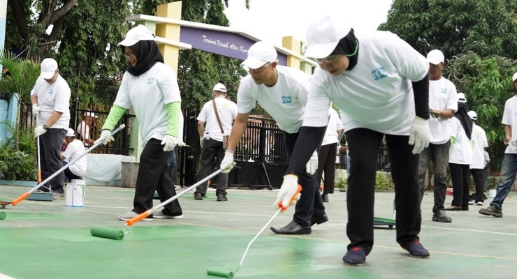 PPG Completes COLORFUL COMMUNITIES Project at Primary School in Jakarta, Indonesia