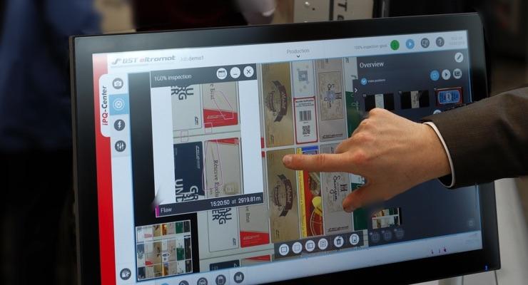 BST demos 100% inspection unit at INFOFLEX