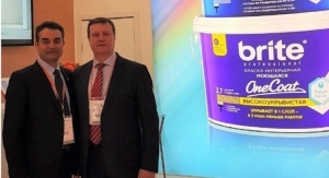 Joint Venture Paints of Yaroslav Introduces Brite Paint with One Coat Technology