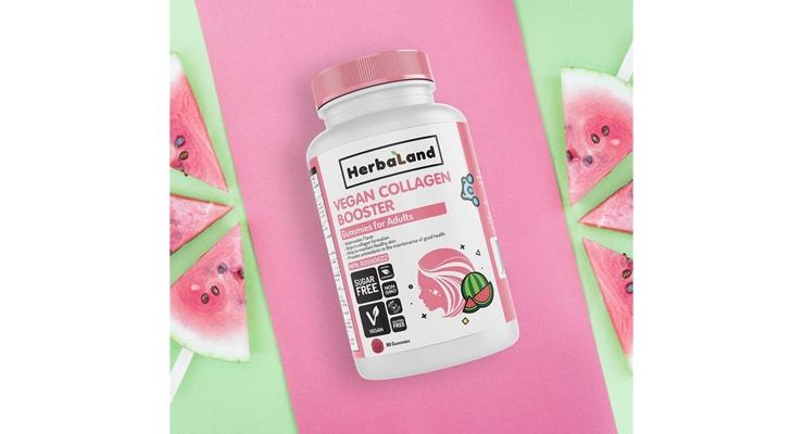Herbaland Gummies Launches Vegan Collagen Supplement