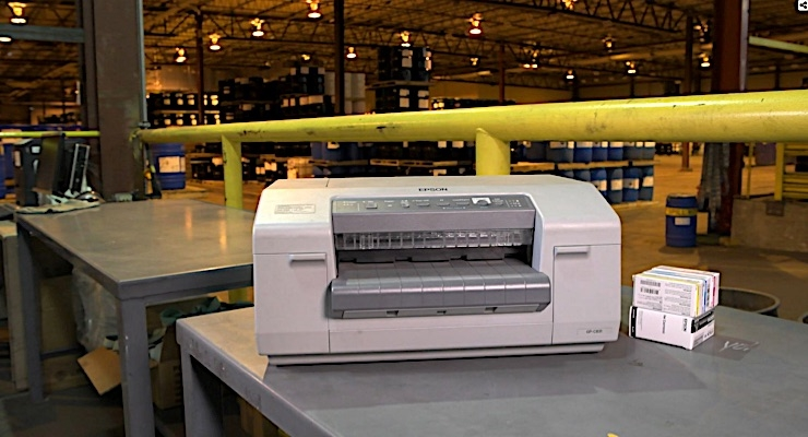 Lubrizol installs Epson ColorWorks label printers