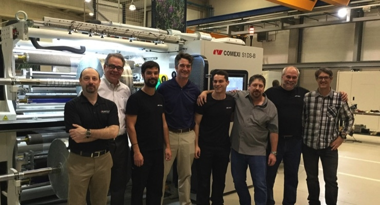 Portco Packaging adds Comexi slitter with laser technology