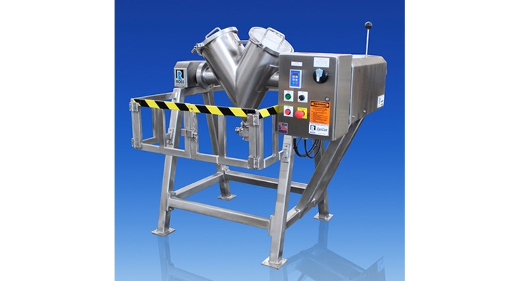 ROSS Offers Sanitary Tumble Blenders