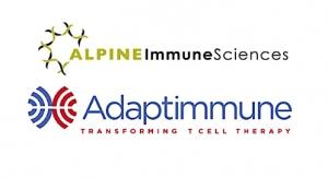 Adaptimmune, Alpine Immune Sciences Enter Next-Gen SPEAR T-Cell Pact