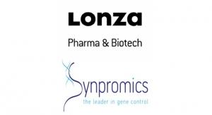 Lonza, Synpromics Enter Biomanufacturing Partnership