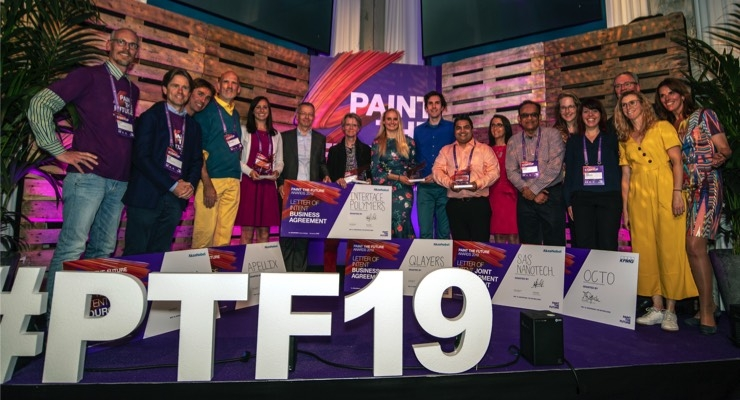 Five Startups Receive Paint the Future Awards from AkzoNobel