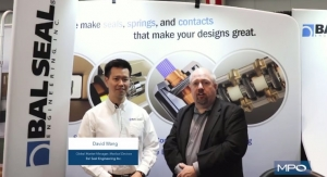 Seals, Springs, and Contacts with Bal Seal Engineering at BIOMEDevice Boston