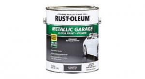 Rust-Oleum Launches Metallic Concrete Floor Paint