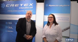 Medtech Manufacturing Services with Cretex Medical at BIOMEDevice Boston