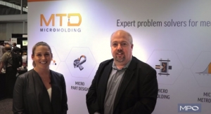 Micro Parts with MTD Micro Molding at BIOMEDevice Boston