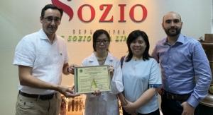 Sozio's Hong Kong Factory Receives MUI Halal Certification