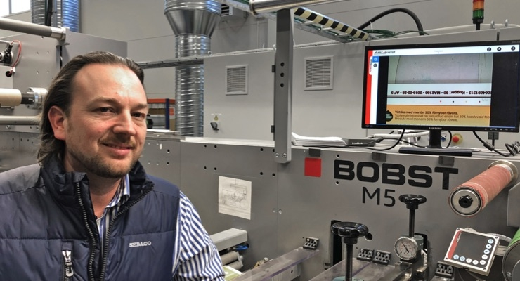 Bobst M5 with REVO a