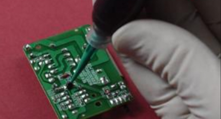Non-Premixed and Frozen, One Part Epoxy for Chip Coating