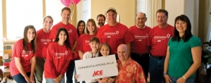Ace Hardware Surprises Children's Miracle Network Hospitals Colorado Champion