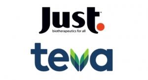 Just Biotherapeutics and Teva Form Biologics Partnership