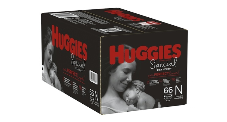 Huggies Launches Special Delivery Diapers