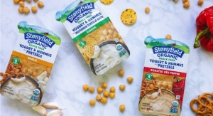 Stonyfield Adds New Savory Flavors to Snack Pack Line