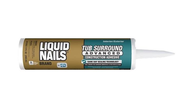 PPG Introduces LIQUID NAILS Tub Surround Advanced