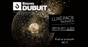 Encres DUBUIT Exhibiting at Luxe Pack Monaco 2019