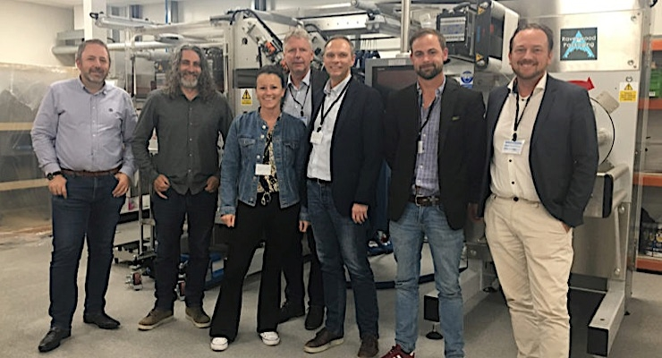 Lexit Group introducing linerless to Swedish food sector
