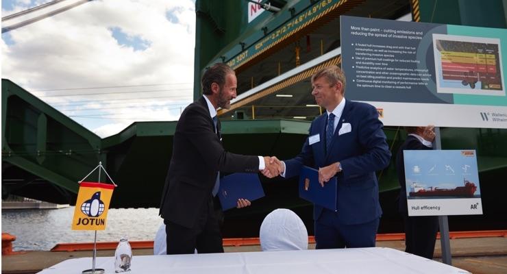 Jotun Signs 42 Vessel HPS Contract with Wallenius Wilhelmsen