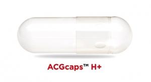 ACG Capsules Introduces ACGcaps H+ Capsule Line